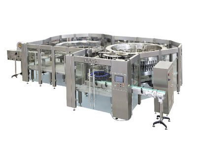 Automatic water filling Line